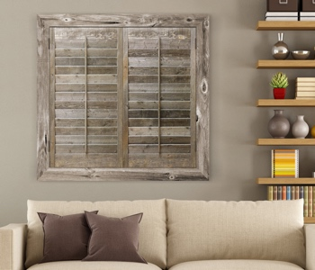 Reclaimed Wood Shutters Product In Tampa
