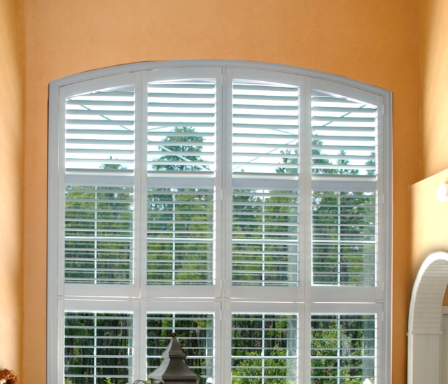 Arched Window Shutters In Tampa, FL