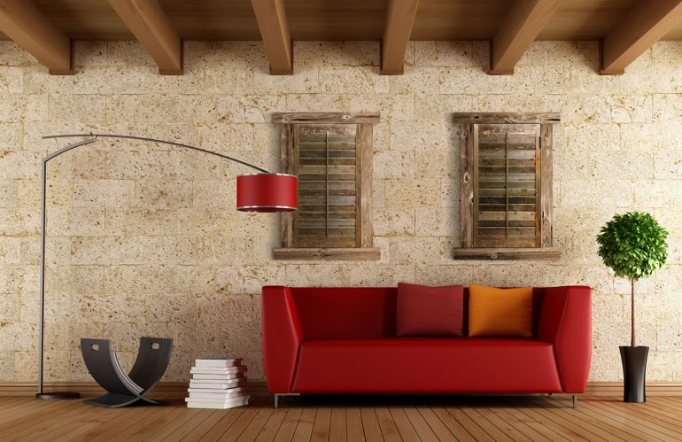 Newest Trends In Window Treatments In Tampa: Reclaimed Wood Shutters