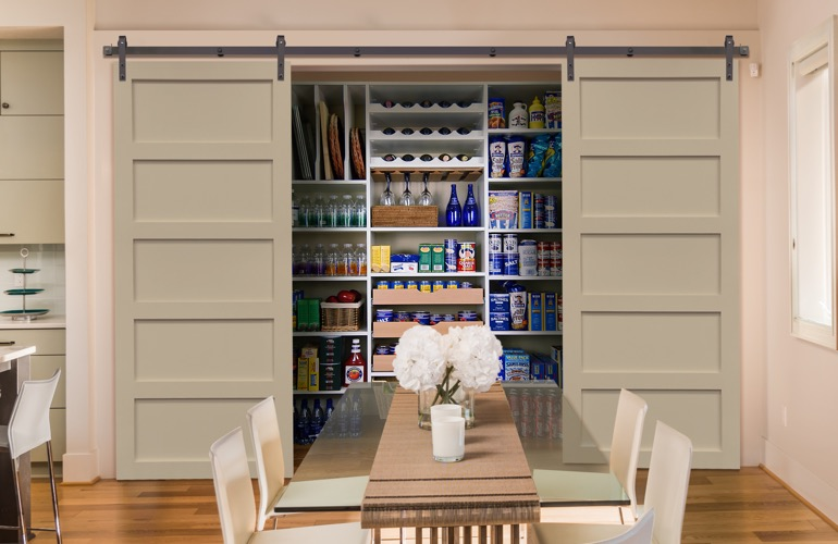 Pantry Sliding Barn Doors In Tampa, FL
