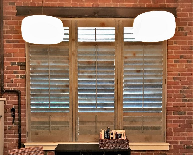 Reclaimed Wood Shutters In Tampa, FL
