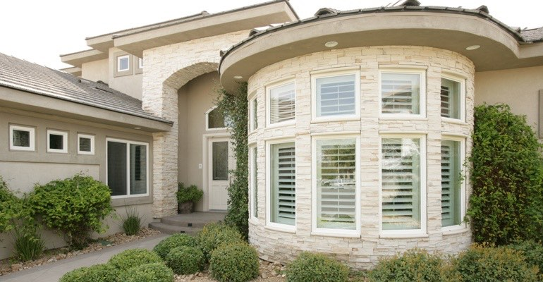 Exterior shutters Tampa home