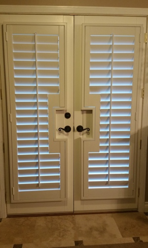 Window Treatment For French Doors