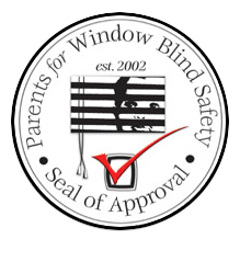 Seal of Approval by Parents for Window Blind Safety in Tampa
