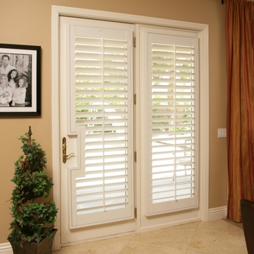 Patio French Door Shutters Tampa