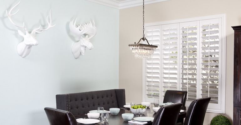 Tampa dining room shutters