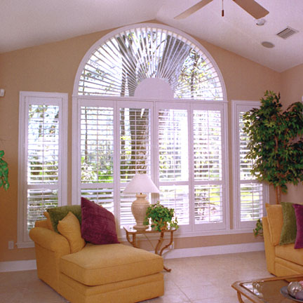 Half circle window shutter Tampa