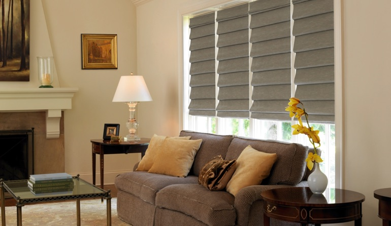 Roman Shades In Tampa, FL