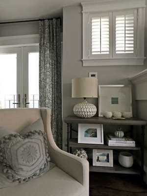Decorated Room With Polywood Plantation Shutters