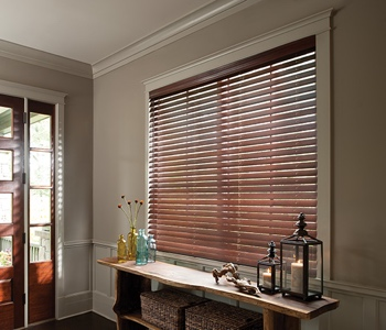 Blinds in Tampa home