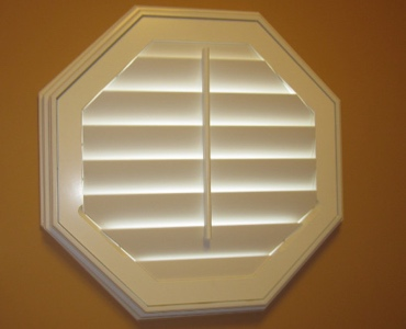 Tampa octagon window shutter