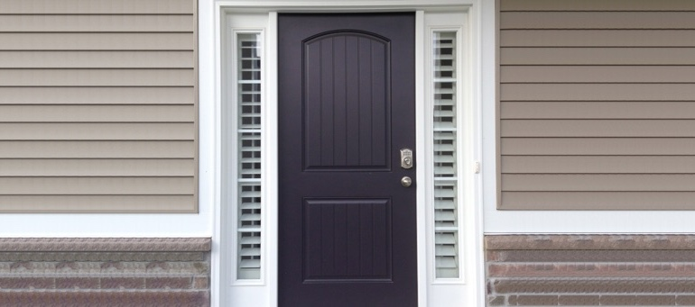 Entry Door Sidelight Shutters In Tampa, FL